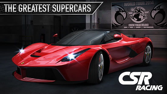 CSR Racing Apk + MOD + Data v3.0.0 for Android  Game Cheats - Hacks