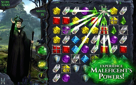Maleficent Free Fall 4.9.1 Apk + Mod + Data (Unlimited Lives)