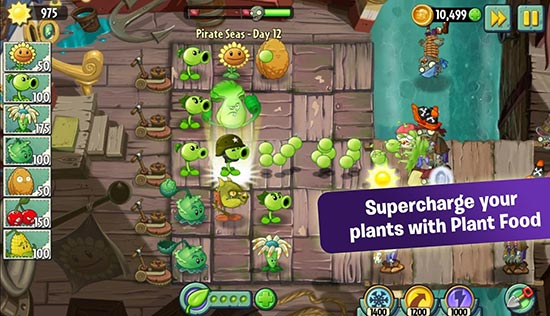Plants Vs Zombies 2 6 6 1 Apk Mod Coins Gems Data