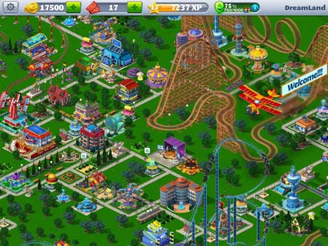 RollerCoaster Tycoon 4 Mobile 1 14 2 Apk + Mod + Data android