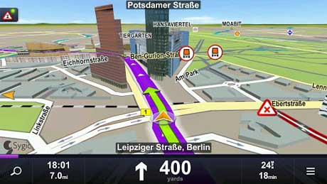 Map downloader sygic