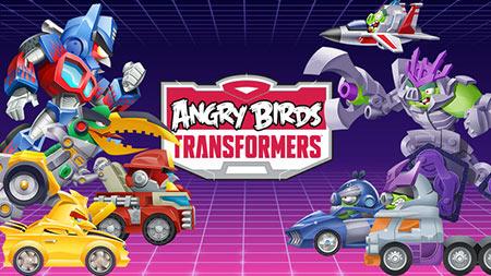 دانلود بازی Angry Birds Transformers پرندگان خشمگین تبدیل شوندگان + مود و دیتا