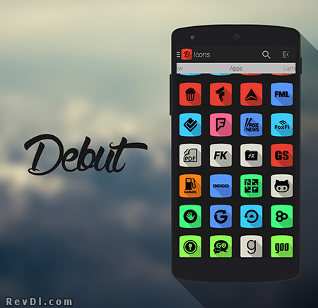Debut.-.Icon.Pack