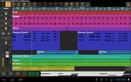 Audio Evolution Mobile DAW