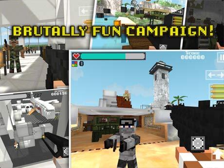 Block Gun 3D Ghost Ops