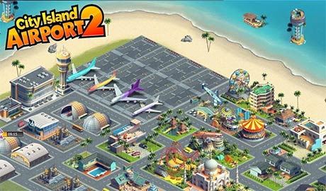 City Island Airport 2 1 7 0 Apk + Mod (Unlimited Money) for