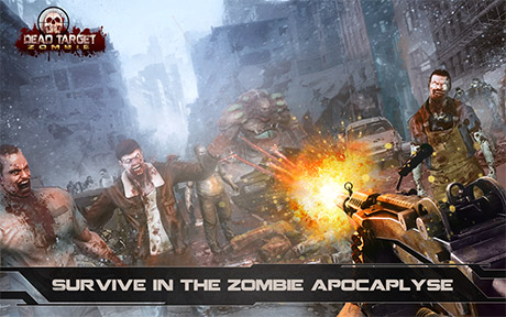 Dead Target Zombie Mod Apk unlimited money, dead target mod apk download, unlimited money dead target zombie download