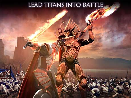 Dawn of Titans 1 33 1 Apk + mod Free Shopping + Data (All GPU) android