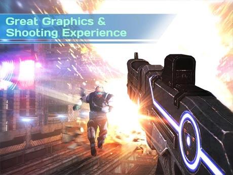 Dead Earth Sci fi FPS Shooter