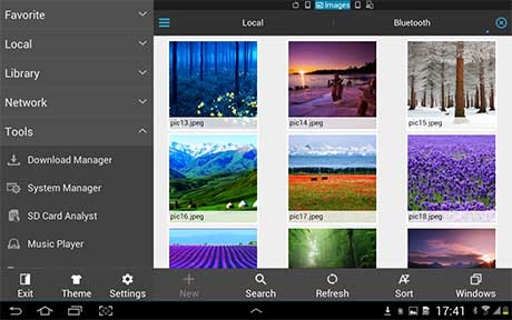 file explorer apk android