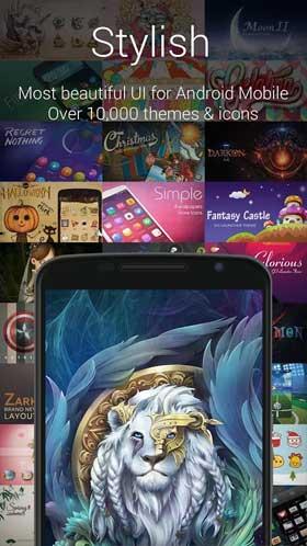 download go launcher z apk4fun