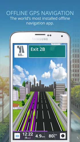 sygic gps navigation maps 18 2 4 Full Unlocked apk + data