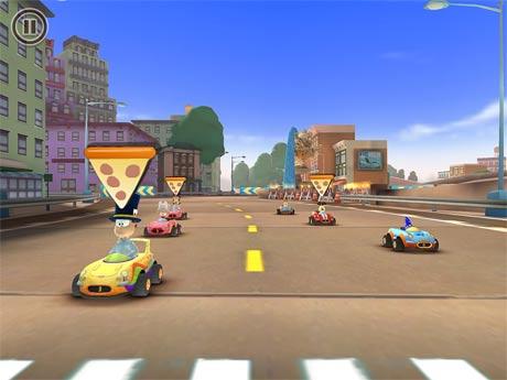 Garfield Kart Fast & Furry