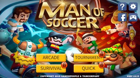 Man Of Soccer
