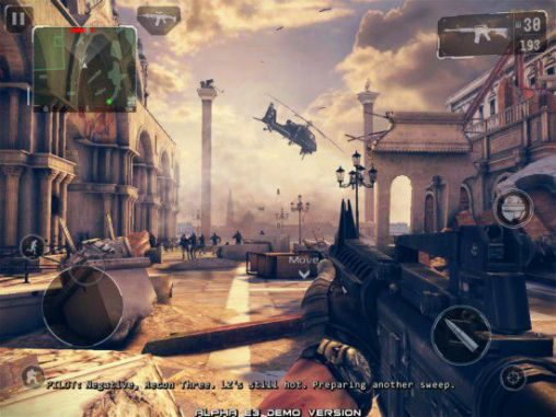 Modern Combat 5 1.0.1 c Blackout with MOD