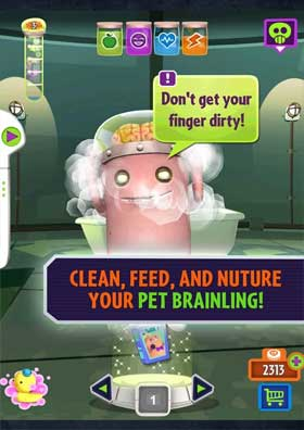 Oh No! My Pet Brainling