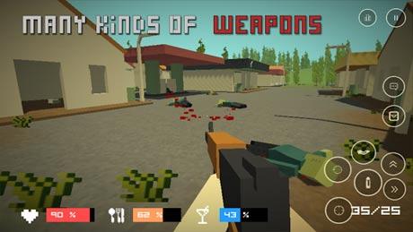 Pixel Z Gun Day