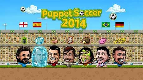 Puppet Soccer 2014 Football.