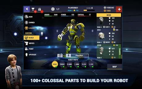 Real Steel Boxing Champions 2 2 143 Apk + Mod Money Coins