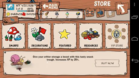 Smurfs Village Mod Apk