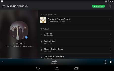 Spotify apk latest version for android