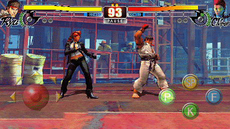 Street Fighter IV v3.4 Apk + Data for Android