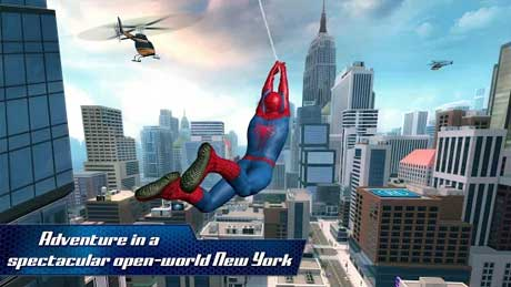The amazing spider man game free download for android obb