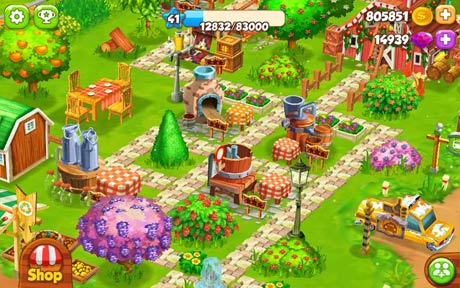 green farm mod apk