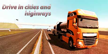 Download latest version Euro Truck Driver 2018 2.2 Apk + Mod Unlimited Money + Data for android from RevDl with direct link.