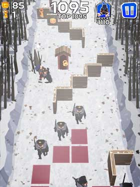 Winter Fugitives stealth game