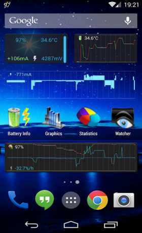 Battery Monitor Widget Pro