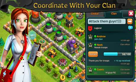 Battle of Zombies: Clans MMO