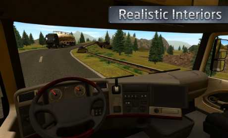Euro Truck Driver 3 1 Apk + Mod + Data android