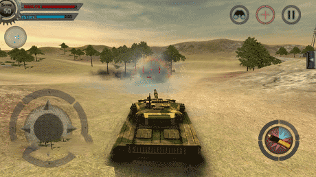 RGB Classic Games - Tank Wars