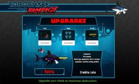 Robo Shark Rampage
