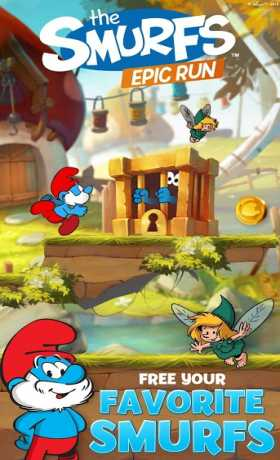 Smurfs Epic Run