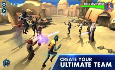 star wars force arena mod apk android