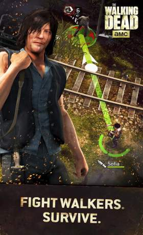 The Walking Dead No Man's Land 2.8.0.13 Apk + Mod + Data (High Damage) Terbaru