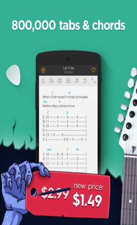 Ultimate Guitar Tabs Chords Apk V573 Android