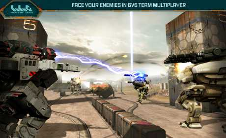 Walking War Robots Premium 5 2 1 Apk + Mod + Data android