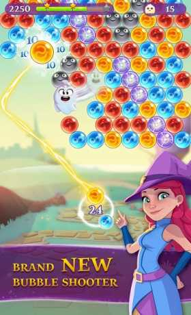 Bubble Witch 3 Saga 6 0 4 Apk + Mod Booster,Gift,    Android