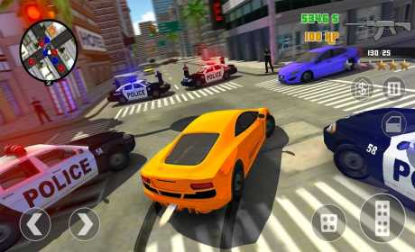 san andreas crime city mod apk