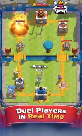 Clash Royale v2.0.8 Apk + Mod (Unlimited Gems + Crystals) Android