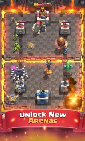 clash royale mod apk latest version 2017