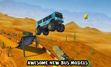 Crazy Monster Bus Stunt Race