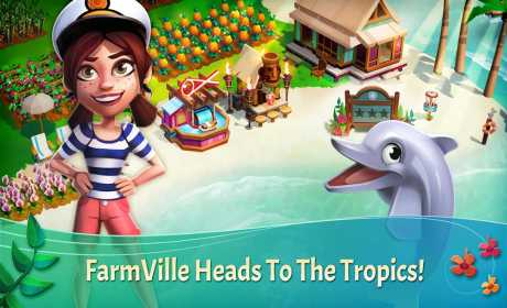 FarmVille: Tropic Escape Mod Coins + Apk 1.16.925 Terbaru