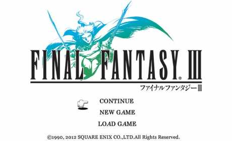 Final Fantasy Iii V1 2 3 Apk Mod Data Android