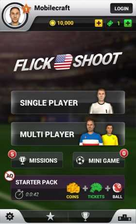 Flick Shoot US: Multiplayer