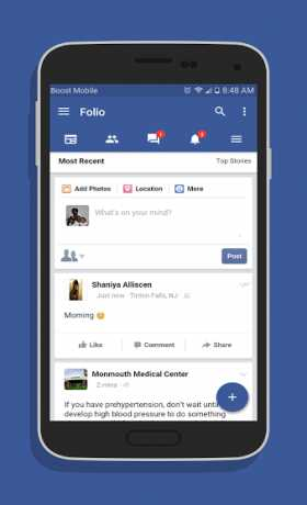 Folio for Facebook Pro
