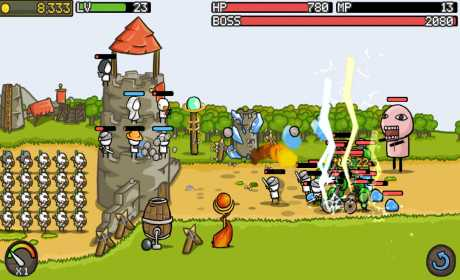 Grow Castle 1.19.3 Apk + Mod (Coins/Gems/Skill Points) for android